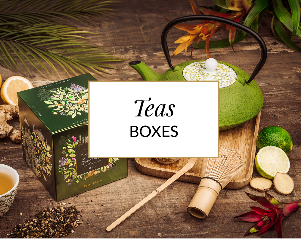 coffrets thés plantasia